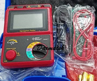 Jual Smart Sensor AR-907+ Digital High Voltage Insulation Resistance Tester