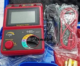Jual Smart Sensor AR-907+ Digital High Voltage Insulation Resistance Tester