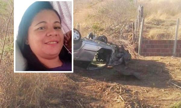 PE: Acidente de carro mata mulher e deixa homem gravemente ferido.