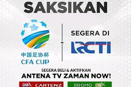 Hak Siar CFA Cup 2019 di Indonesia Gratis di parabola
