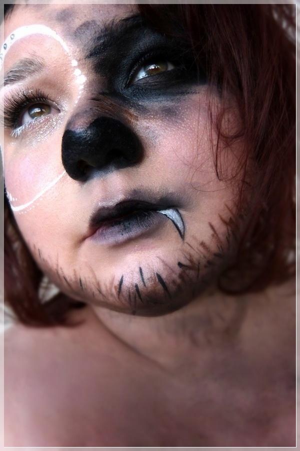 Wolf schminken