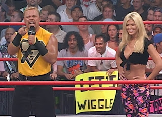 WCW New Blood Rising 2000 - Shane Douglas and Torrie Wilson