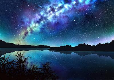Gambar pemandangan malam