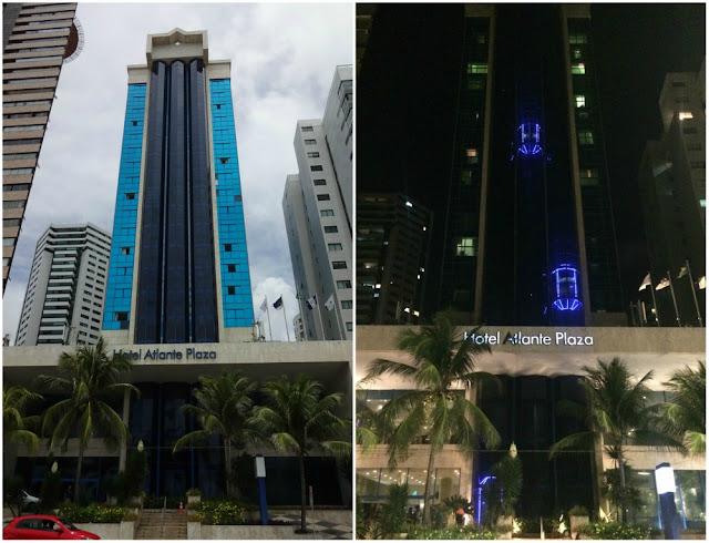 Hotel de frente para a Praia de Boa Viagem em Recife: Atlante Plaza