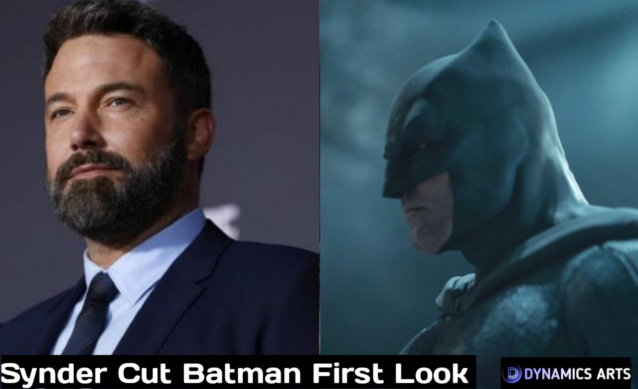 Justice League Snyder Cut Batman First Look Reveales