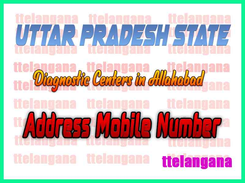 Diagnostic Centers in Allahabad In Uttar Pradesh