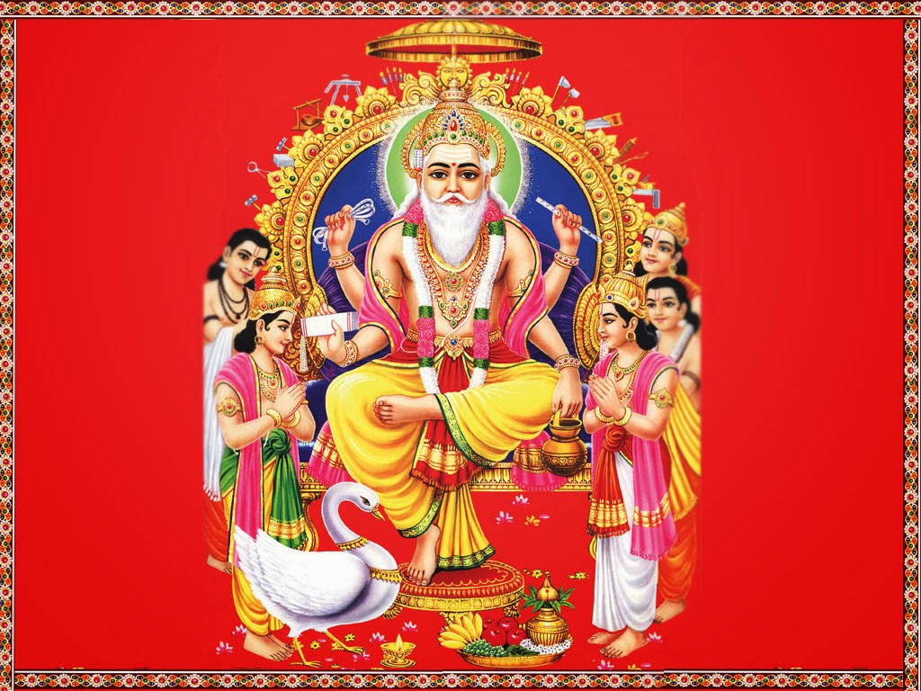 Top Beautiful Shri Vishwakarma Hindu God Images for free download