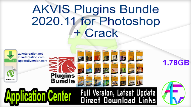 AKVIS Plugins Bundle 2020.11 for Photoshop + Crack
