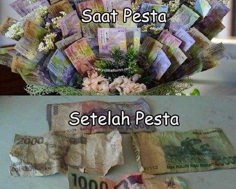 keuangan untuk pesta