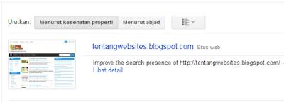 cara buat alat webmaster google