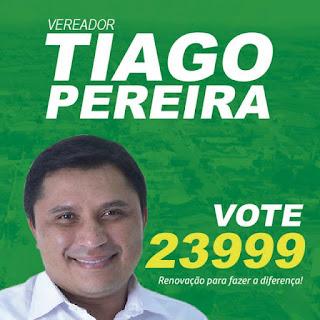 Veja como fica a agenda do candidato a vereador cacimbense Tiago Pereira.