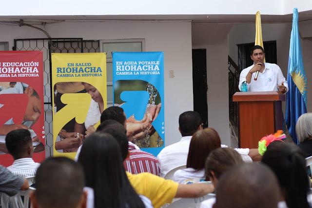 Ex alcaldes de Riohacha participan en la elaboración del Plan de Desarrollo 2020-2023