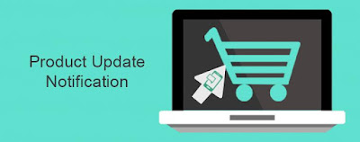 product update notification