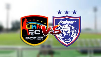 Live Streaming UKM FC vs JDT II Liga Premier 14 Mac 2020