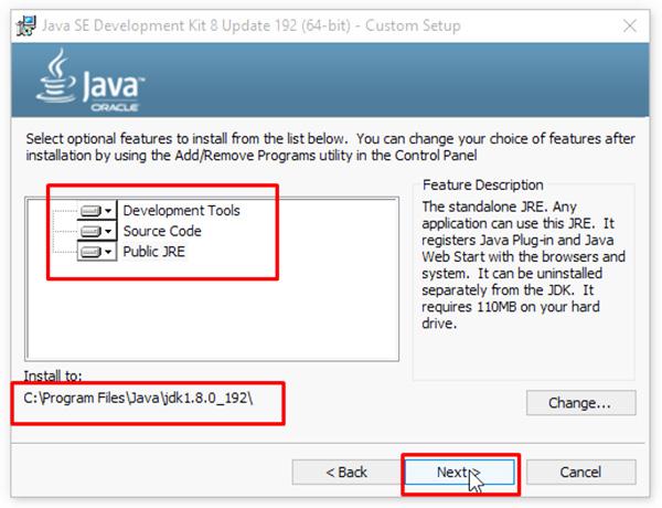 Hướng dẫn cách tải và cài đặt JAVA 8 trên Windows d