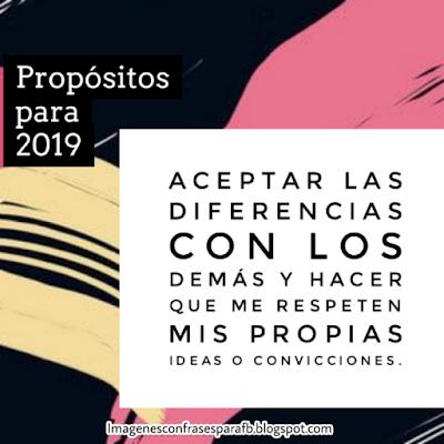 30 Propósitos para el Año 2019