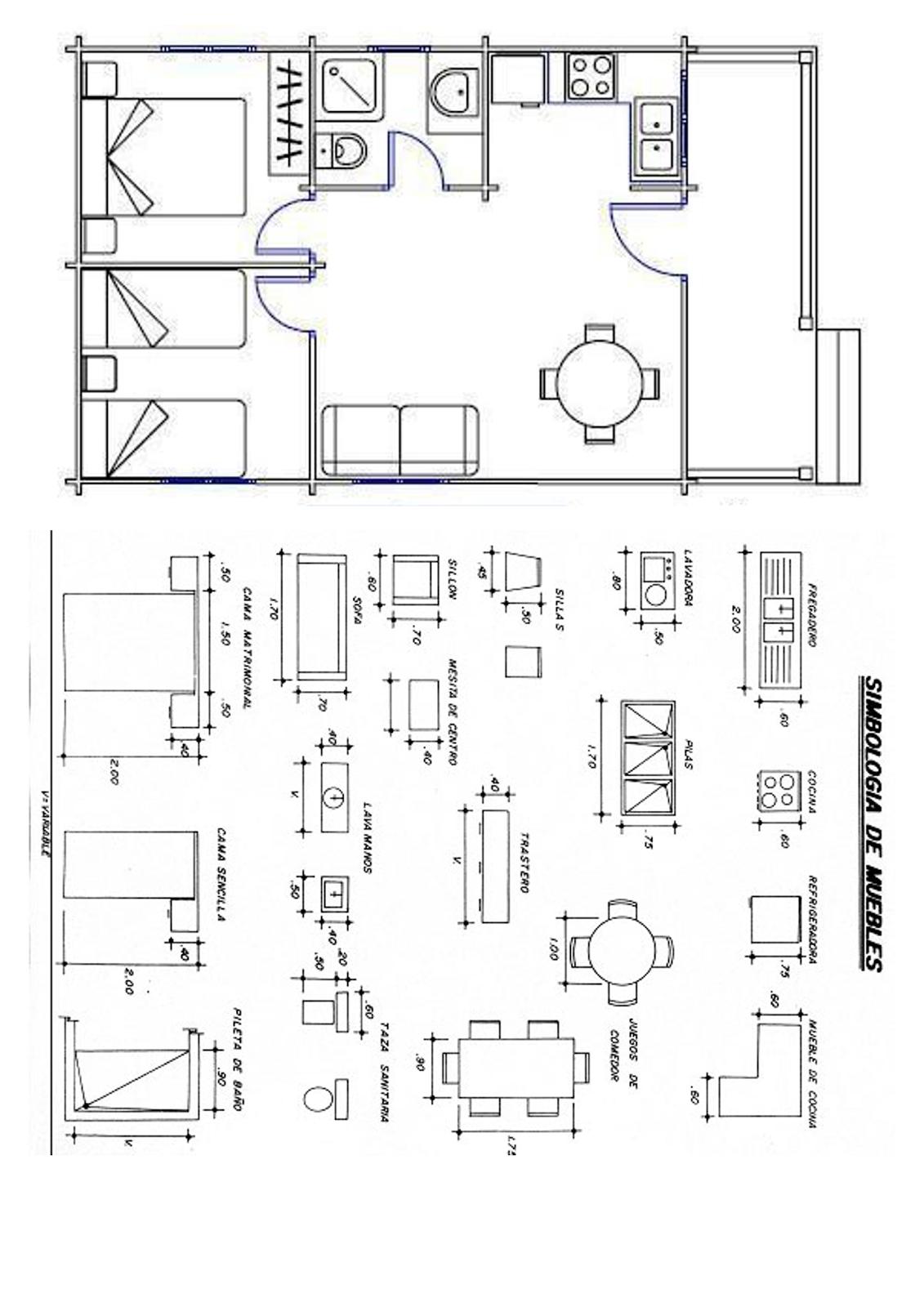 Tecnolog a y eso octubre 2015 for Pdf planos arquitectonicos