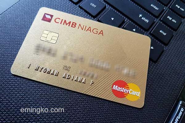 Pencairan Deposito Jaminan Kartu Kredit CIMB Niaga