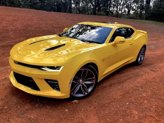 Mobil mewah dan pemiliknya di Indonesia - Chevrolet Camaro