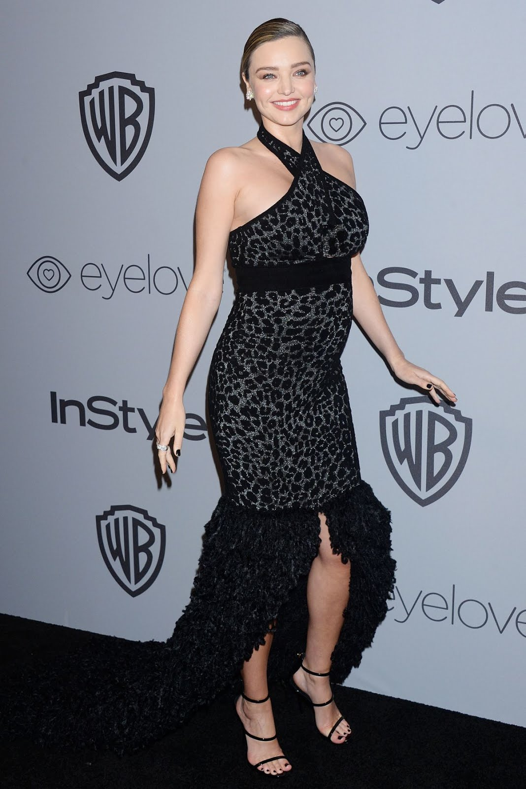 75th Golden Globes Photos:Pregnant Miranda Kerr at Instyle and Warner Bros Golden Globes 2018 After Party In Los Angeles