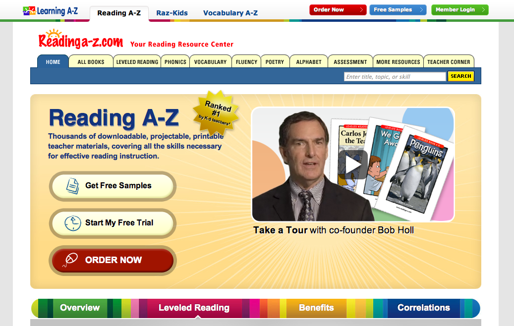 HTS Summer Learning Blog: Learning A-Z and RAZ Kids