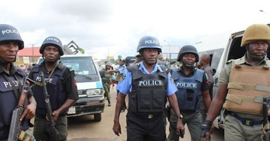 Armed Robbers Attack Banks, Kill 10 & Set Ablaze Area Commander's Car In Edo State