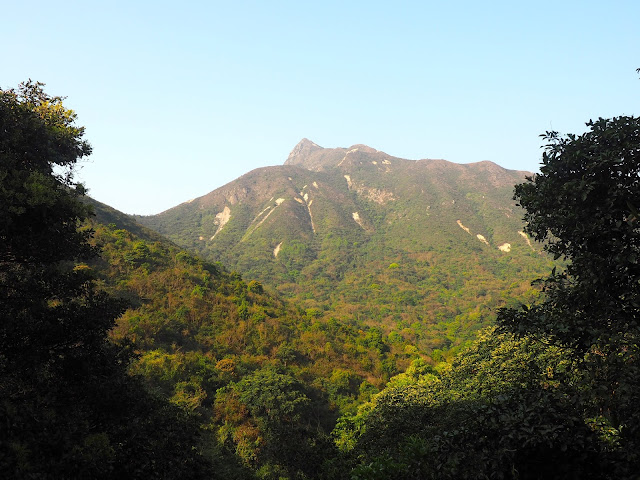 Landscape views on the hiking path to Pak Tam Au from Tai Long Wan, Hong Kong