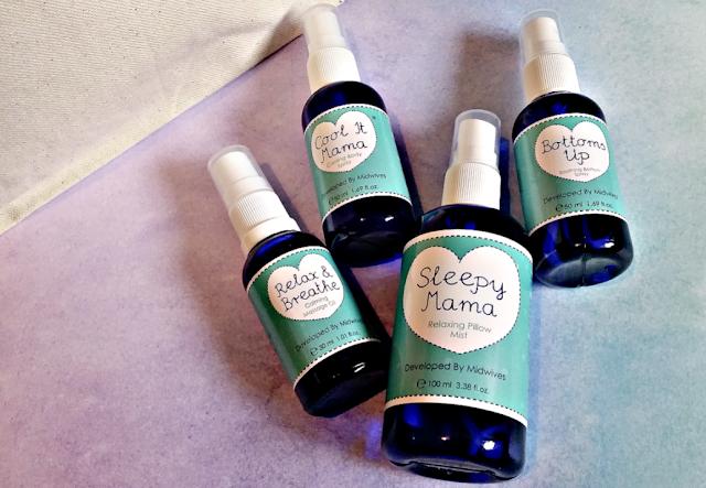 The Birthing Essentials Kit bottles