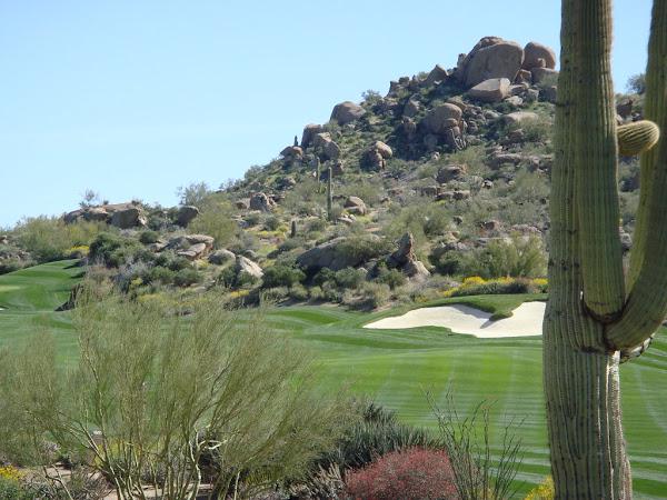 Estancia in Scottsdale is a desert golf course