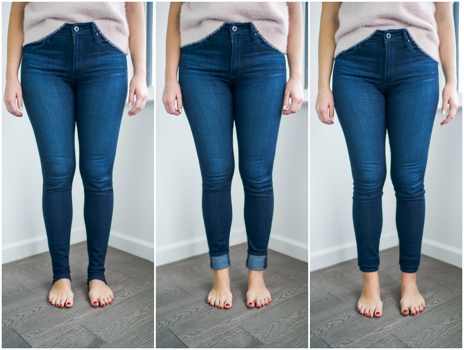 AG Farrah Jeans Review by popular New York style blogger Covering the Bases