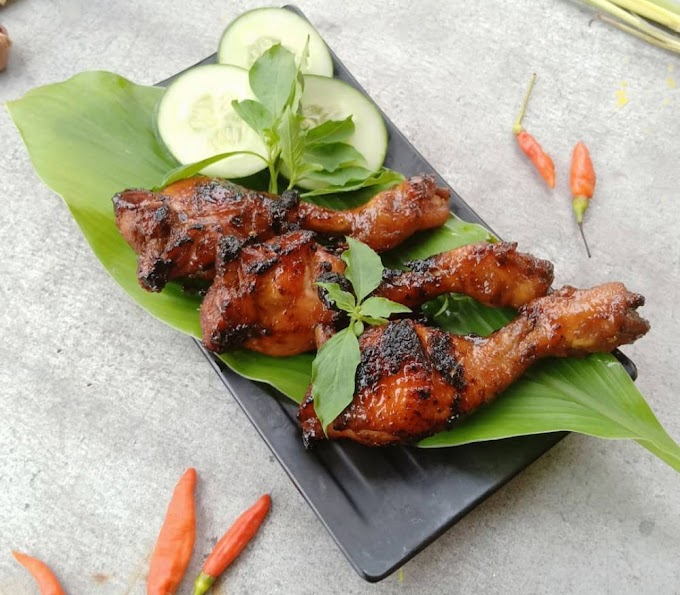 Warung Barokah Resep Menu  Ayam bakar madu