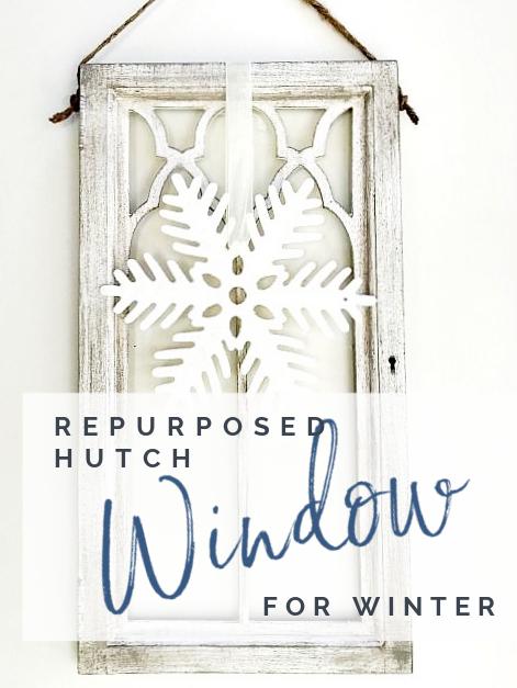 window with snowflake and overlay
