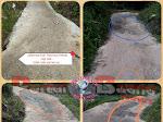 Jalan Usaha Tani Desa Lubuk Paku Diduga Kuat Pengerjaan Asal Jadi
