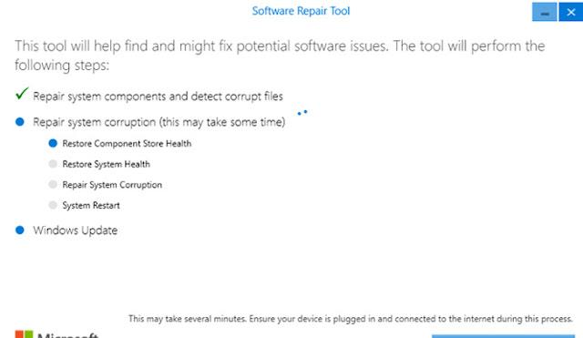 Software Repair Tool لحل مشاكل ويندوز 10