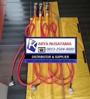 Break Out 150KV Stick Ground PLN di Palangkaraya