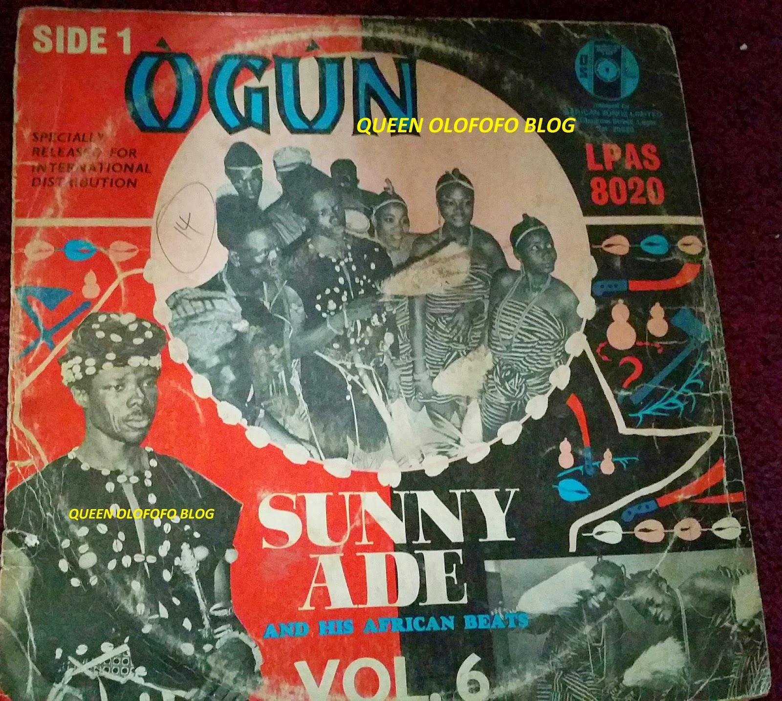 Nigerian Old School Music Sunny Ade Ogun