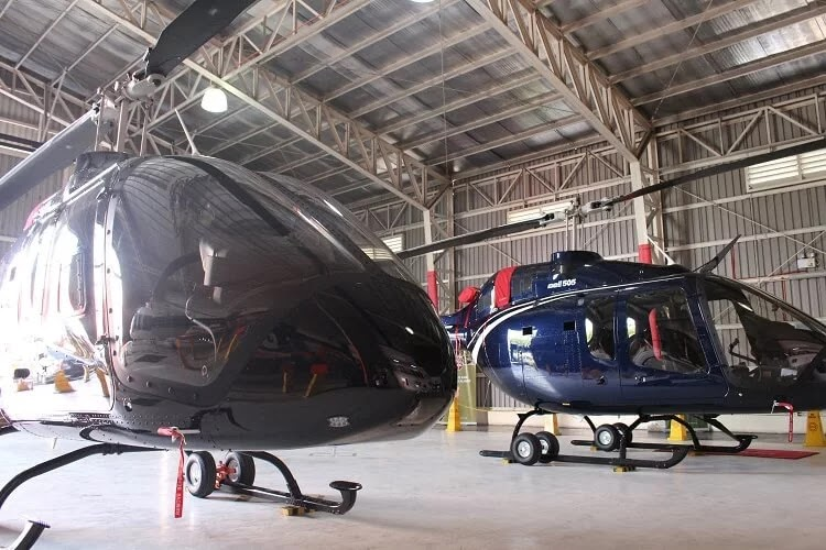 Bell 505 Jet Ranger X Helicopter Lands in the Philippines