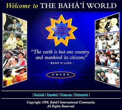"""Скриншот сайта """"Мир бахаи"""""""