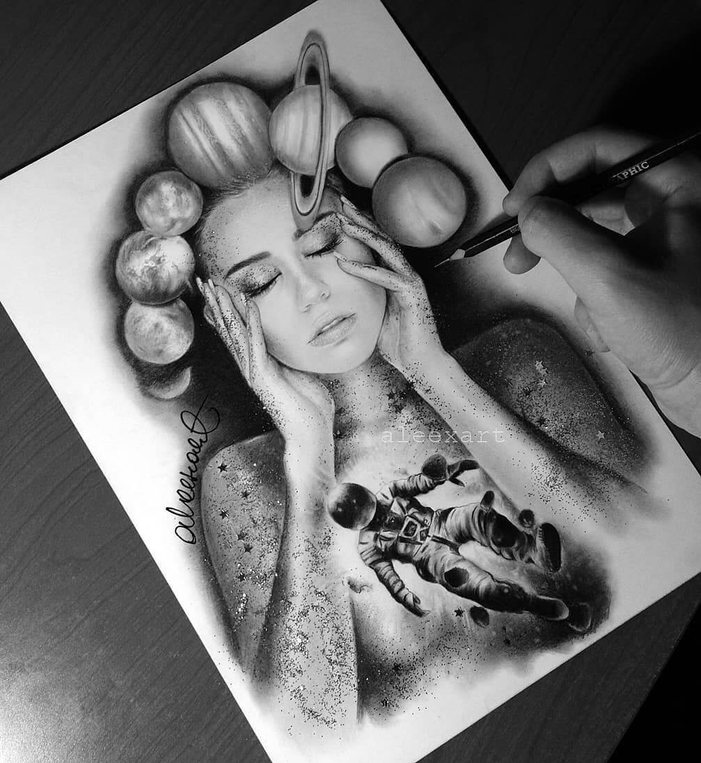 07-Miley-Cyrus-Alex-Manole-Celebrities-Drawn-in-Realistic-Portraits-www-designstack-co