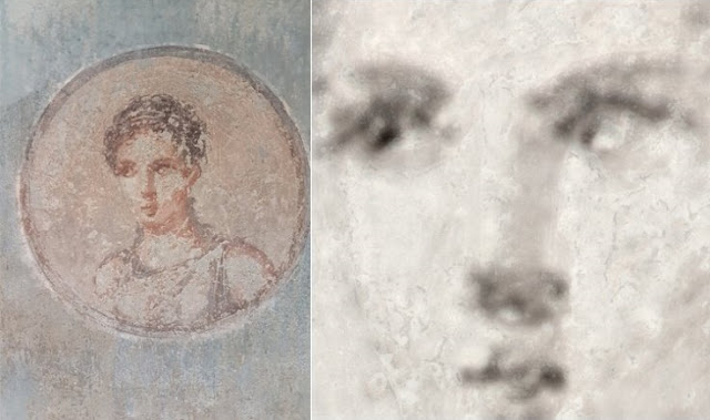 Remarkable artistry hidden in ancient Roman painting revealed