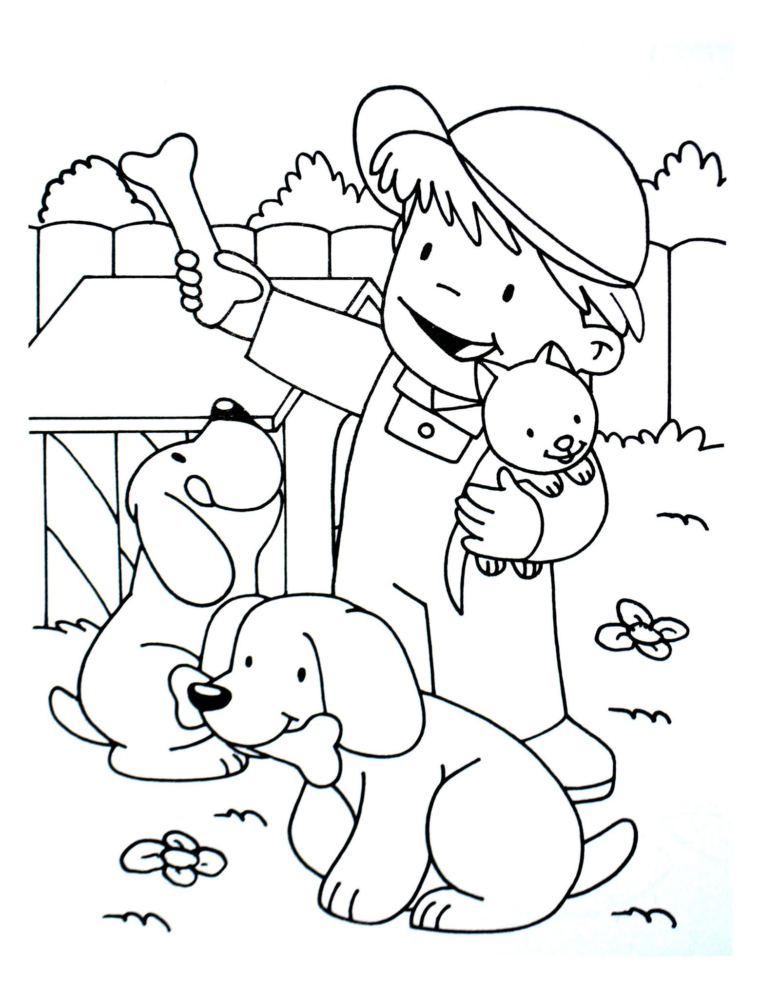 Dogs coloring pages 66