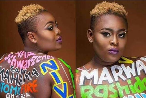 I will blame myself if I get raped Ghanaian nude model says