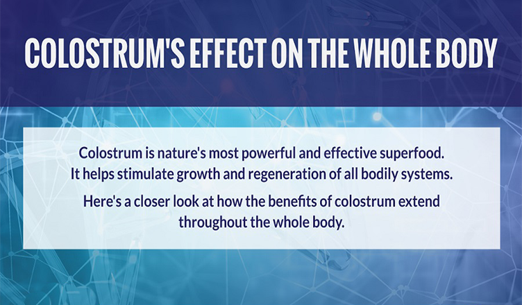 Colostrum's Effect on the Whole Body #infographic