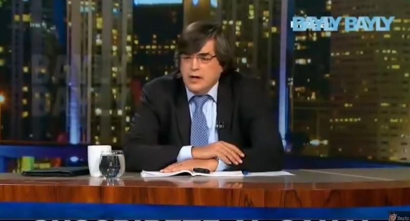 Jaime Bayly comentó el rechazo contra Maduro en el acto de López Obrador