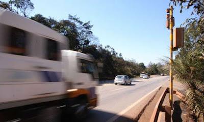 Estradas mineiras ganham mais seis radares; três são em Belo Horizonte