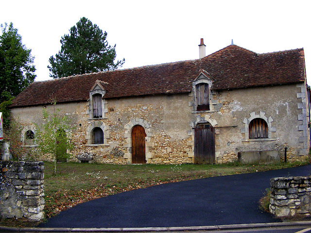 Barn or longere, Concremiers, Indre, France. Photo by Loire Valley Time Travel.