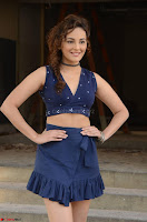Seerat Kapoor Stunning Cute Beauty in Mini Skirt  Polka Dop Choli Top ~  Exclusive Galleries 062.jpg