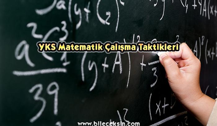YKS Matematik Çalışma Taktikleri