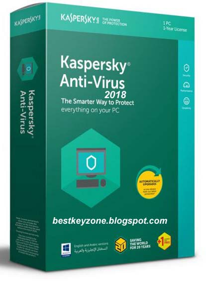 Kaspersky Antivirus 2019 Activation Code for 1 Year Free