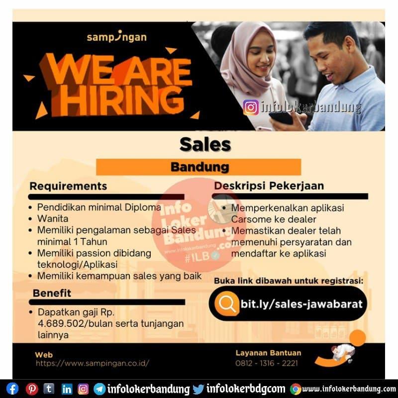 Lowongan Kerja Sampingan Bandung April 2021